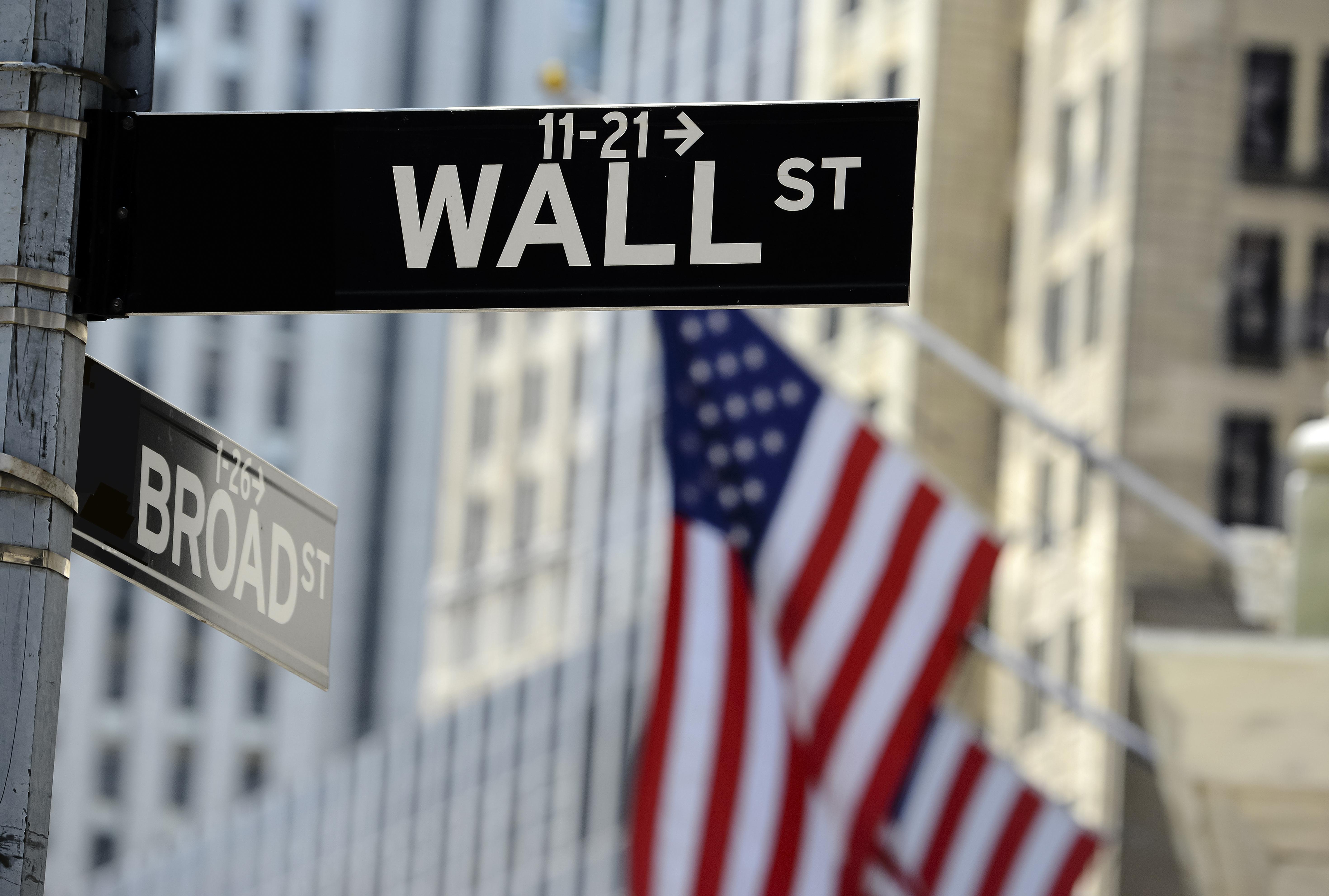 A photo of Wall Street, USA