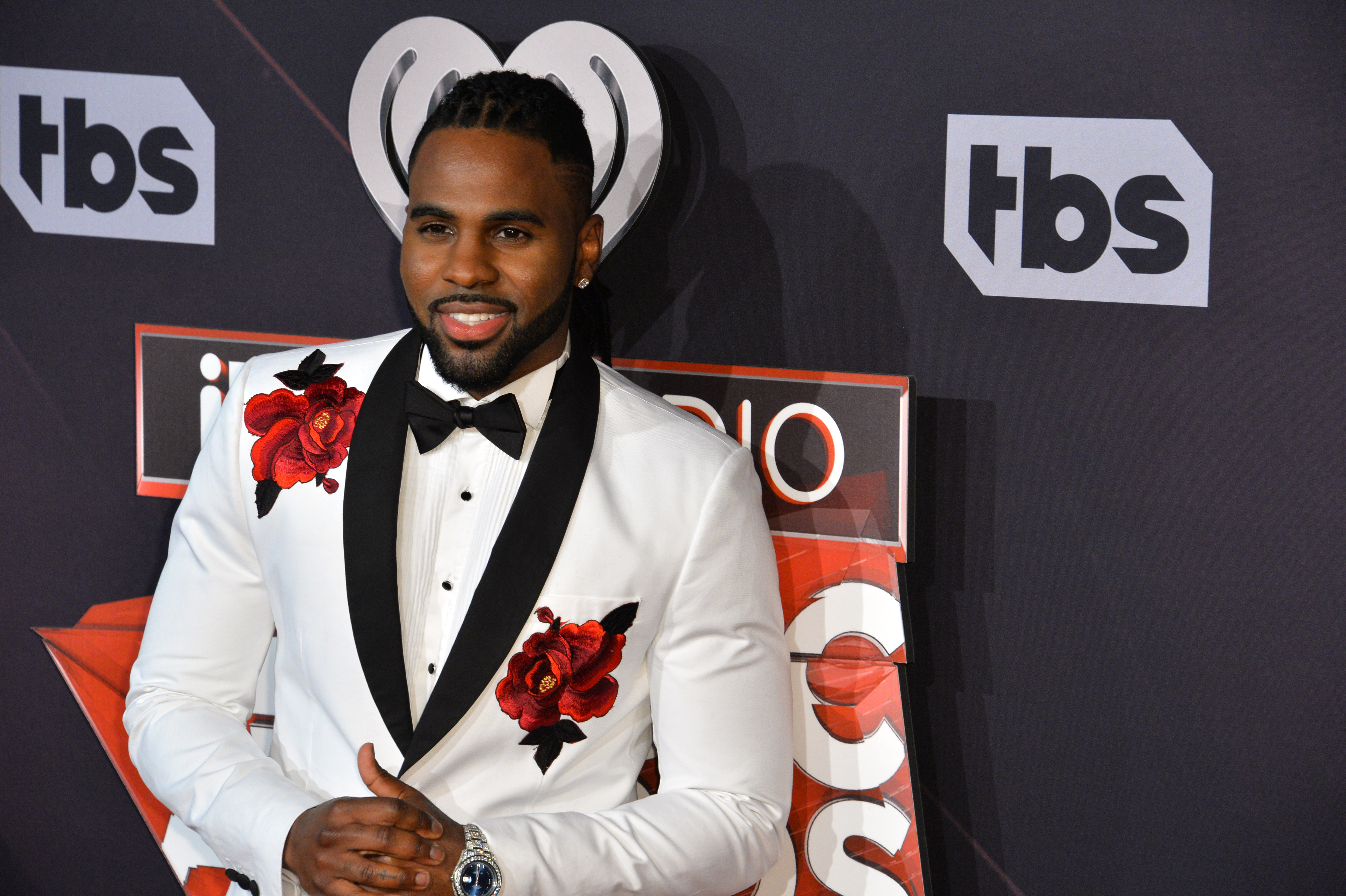 Jason Derulo at the 2017 iHeartRadio Music Awards at The Forum, Los Angeles