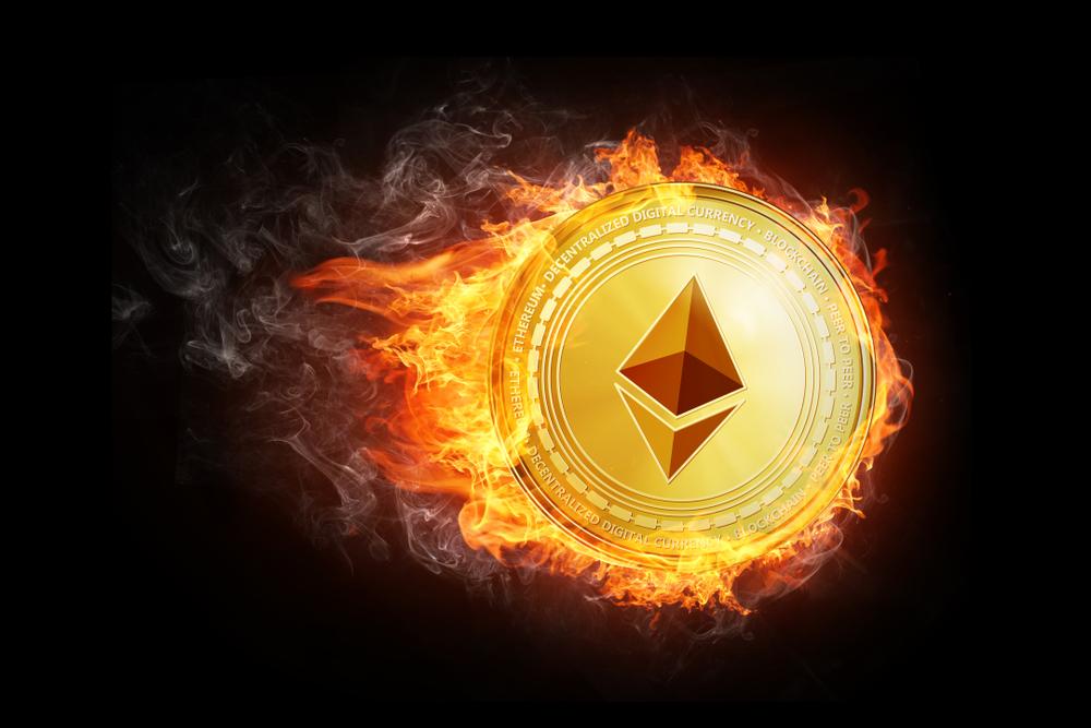 C августа стоимость «сожженного» ETH достигла $1,1 млрд
