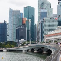 View of Singapore's Central Business District