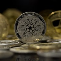 Cardano cryptocurrency coins