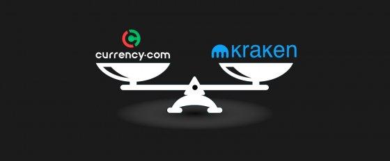 Currency.com vs Kraken: обзор и сравнение двух криптобирж