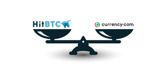 Currency.com vs HitBTC: обзор и сравнение двух криптобирж