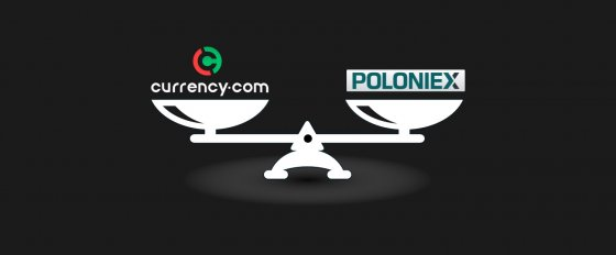 Currency.com vs. Poloniex: обзор и сравнение двух криптобирж