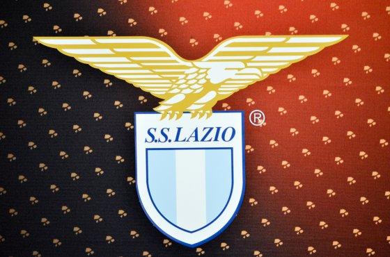 Lazio's new shirt badge