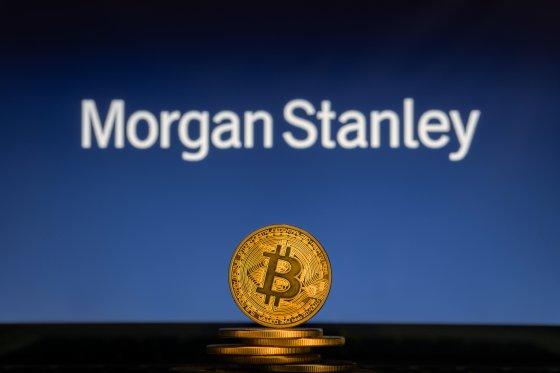 Morgan Stanley рекомендовал пока не предлагать клиентам биткоин-ETF