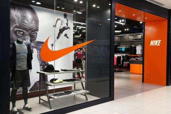 Акции Nike выросли на 14% и достигли своего рекордного уровня