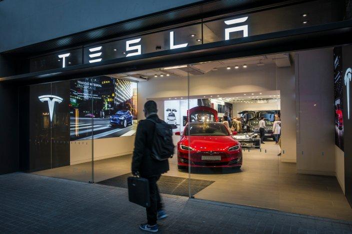 Tesla share price forecast