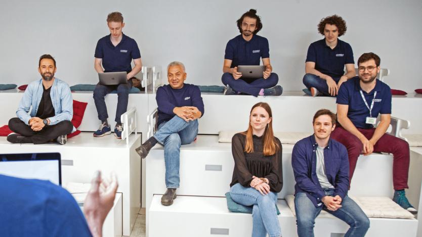 Photograph of the SheeldMarket team