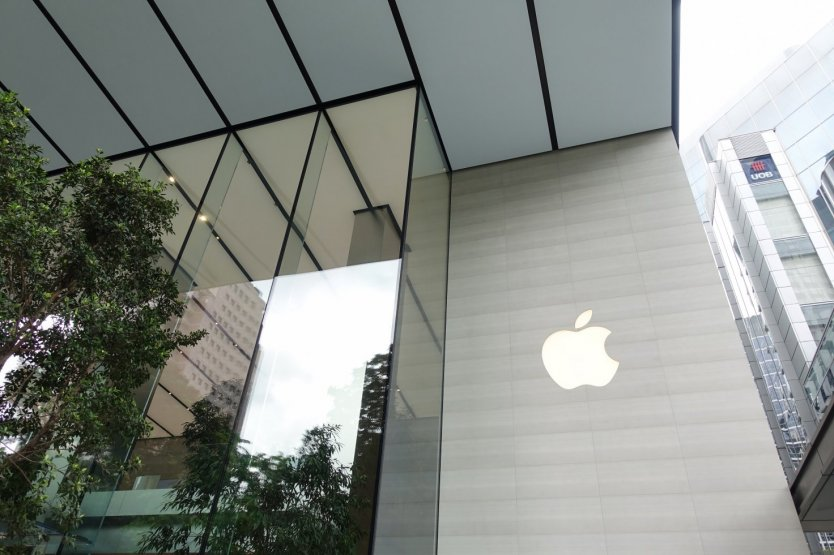 Apple share price history