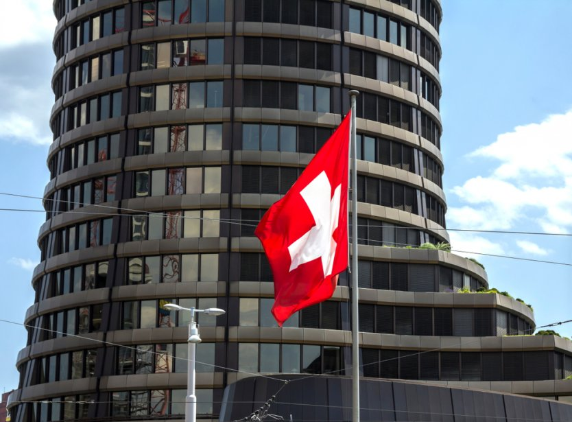 The main building of the Bank for International Settlements (BIS) in Basel, Switzerland.