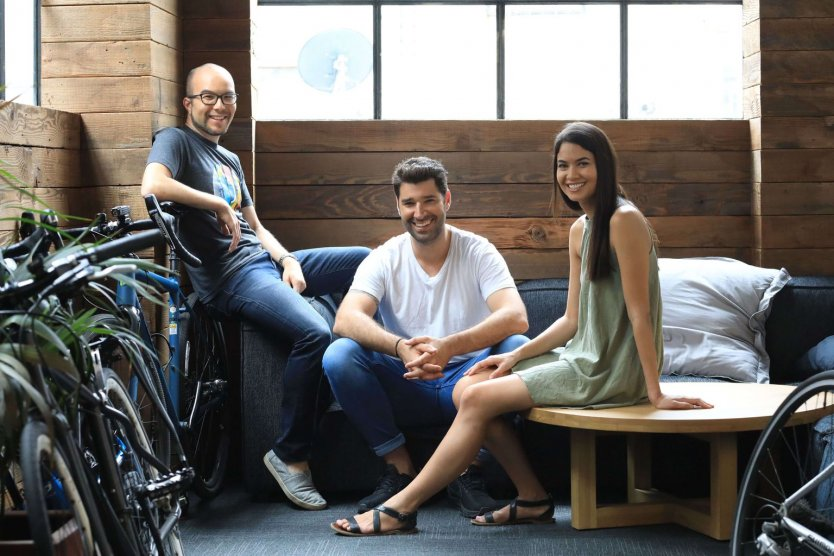 Canva co-founders