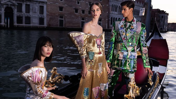 Advertisement for the 'Collezione Genesi' NFT by Dolce & Gabbana