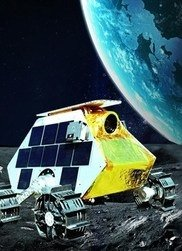 Rover in outer space