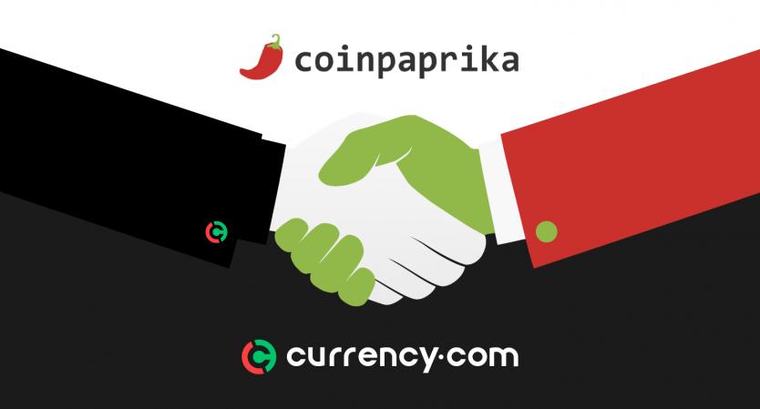 coinpaprika partnership