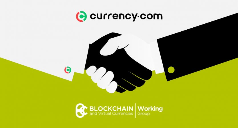Currency.com joins the Blockchain and Virtual Currencies Working Group