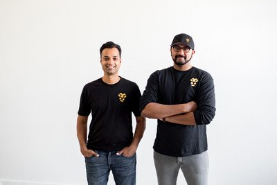 Jeeves co-founders Sherwin Gandhi and Dileep Thazhmon