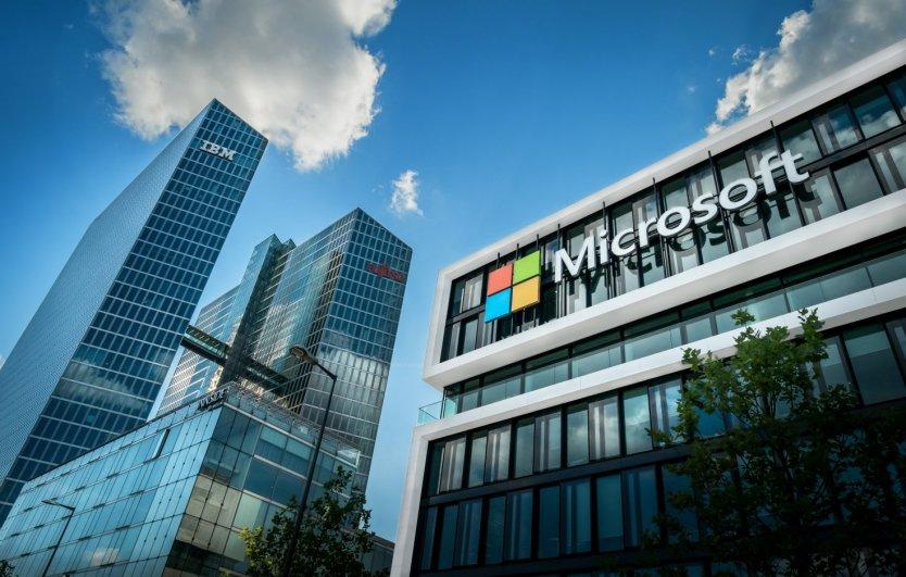 Microsoft share price history