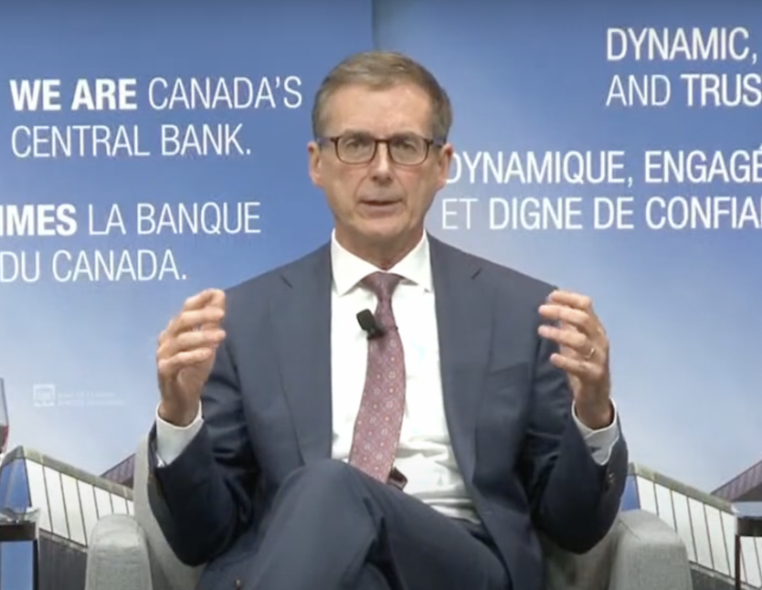 Bank of Canada Governor Tiff Macklem in conversation on 7 October 2021