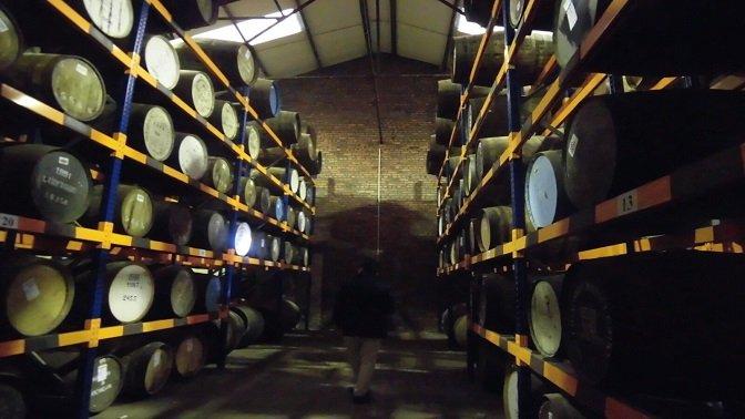 Casks of whisky