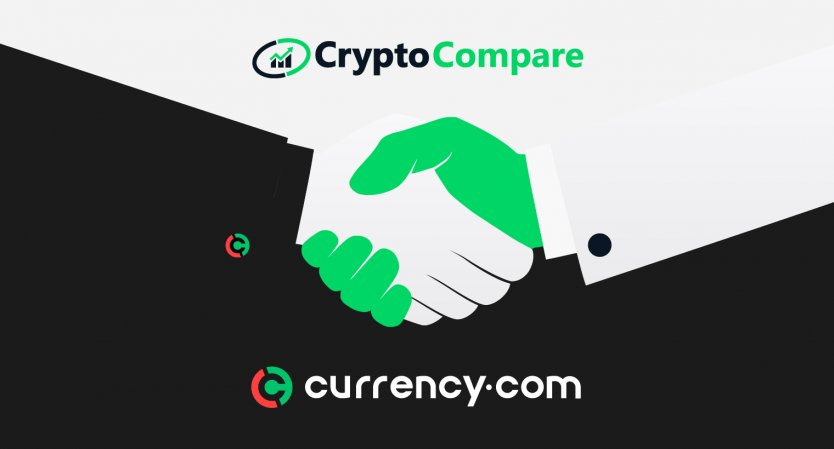 Currency.com partners with CryptoCompare
