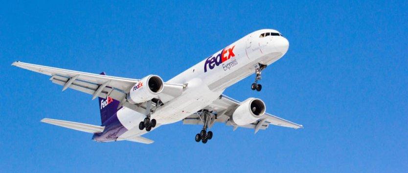 Fed Ex Express plane.