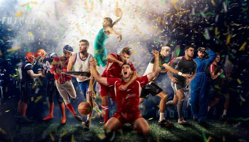 Sports concept image