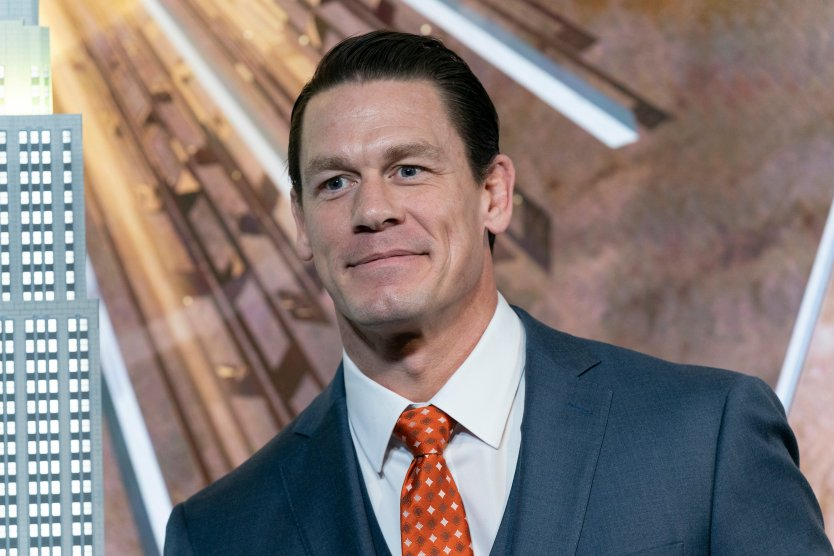 American WWE wrestling champ and actor John Cena in New York