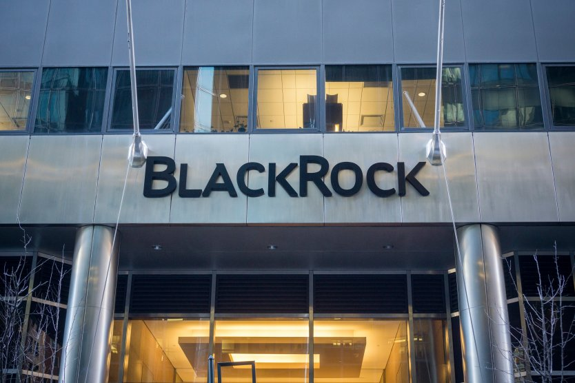 Exterior of BlackRock building