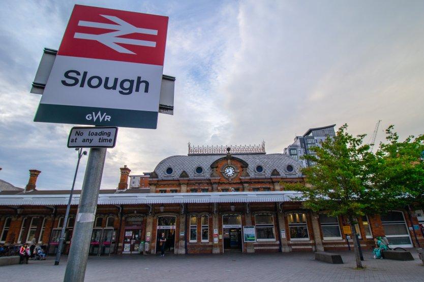 Slough train station