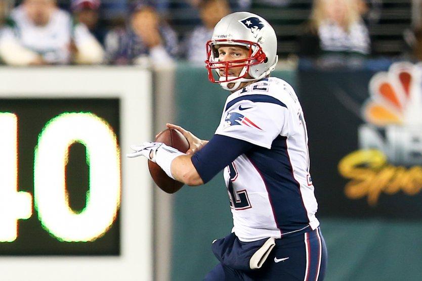 Tom Brady, playing as New England Patriots' quarterback
