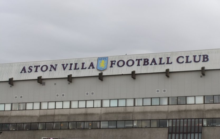 Villa Park in Birmingham