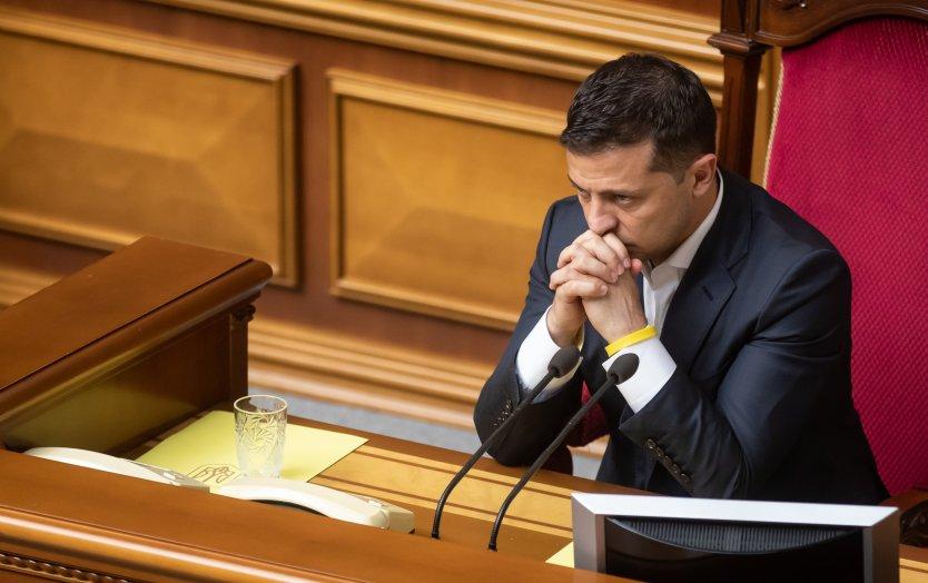 Ukrainian President Volodymyr Zelensky in court