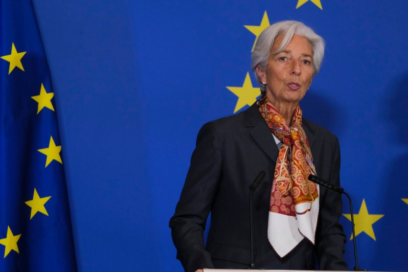 President of the European Central Bank Christine Lagarde