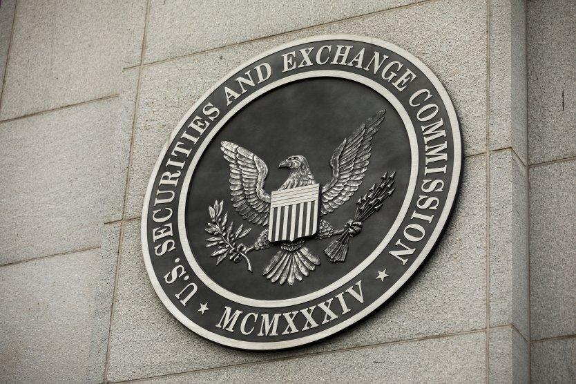 SEC logo on buidling