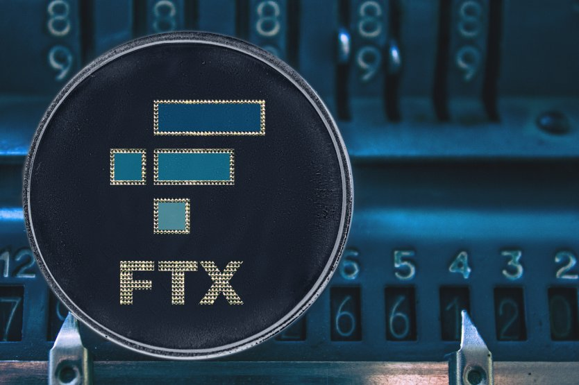 Representation of FTX cryptocurrency token