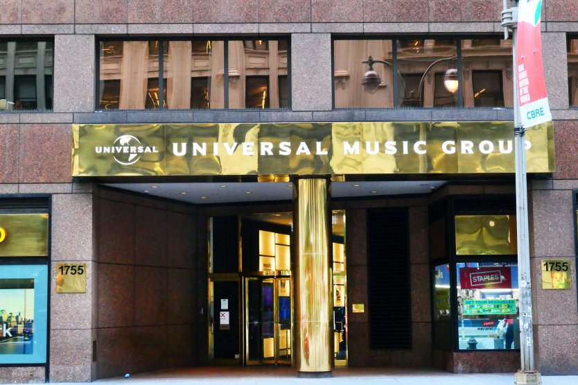 Universal Music Group building in New York City