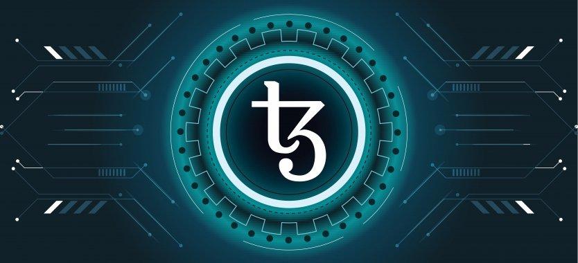 XTZ coin logo