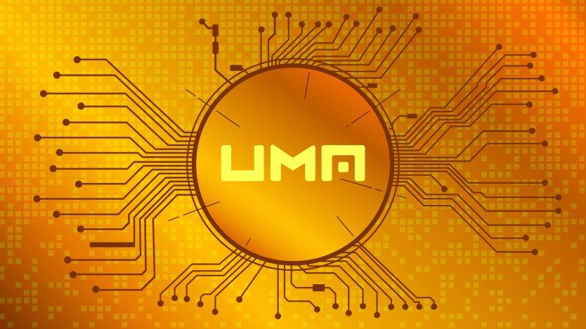 UMA cryptocurrency symbol