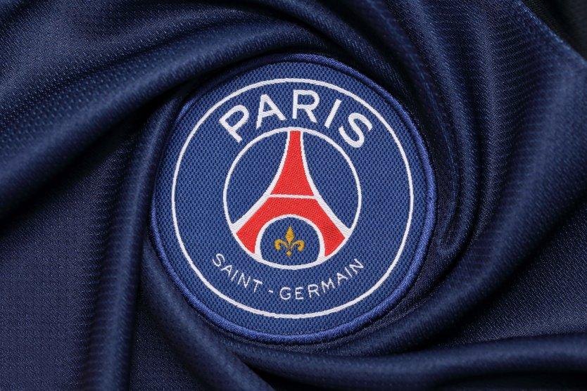 Paris Saint-Germain logo on fabric