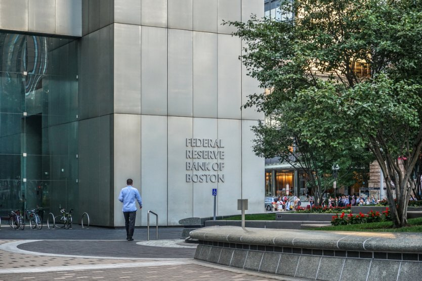 Exterior of Federal Reserve Bank of Boston