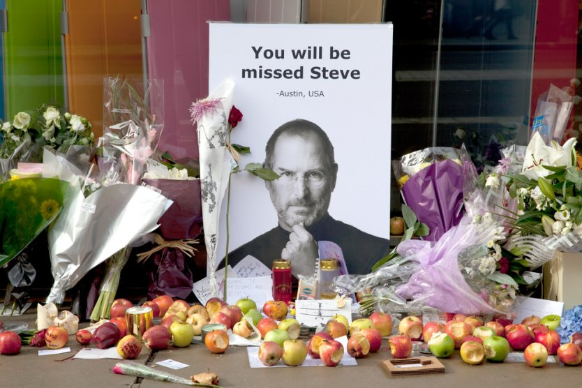 Как дорожала Apple при Стиве Джобсе
